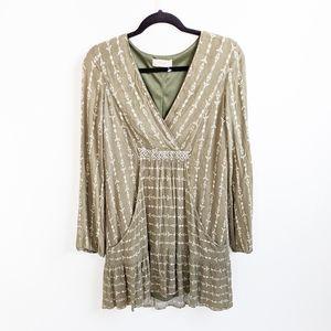 Altar'd State Bohemian Long Sleeve Dress